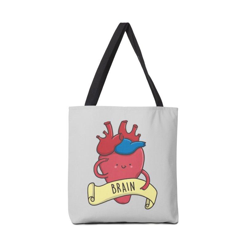 THE BRAIN Accessories Tote Bag Bag by RiLi's Artist Shop