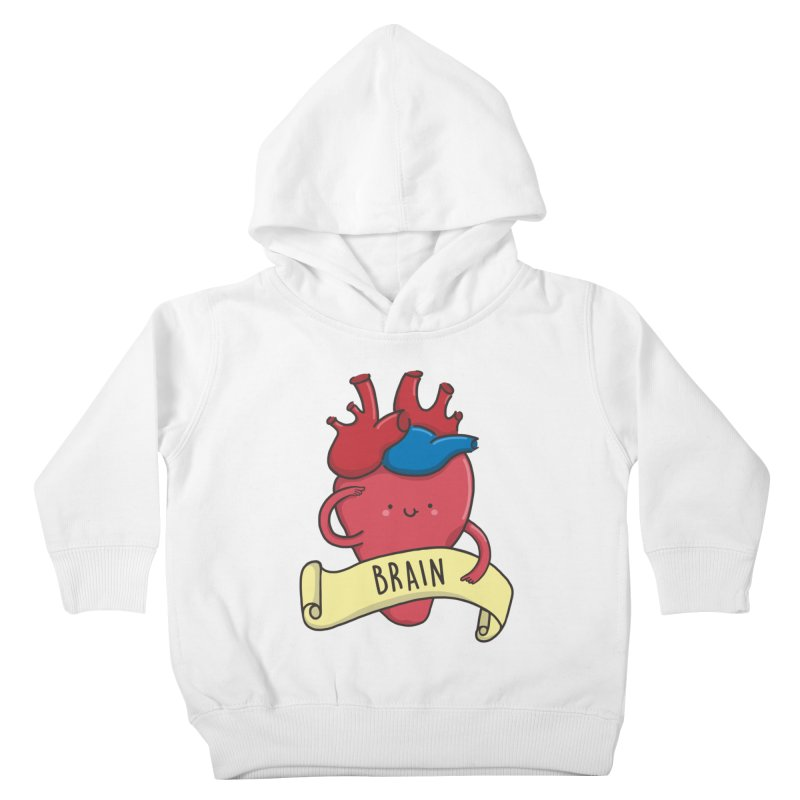 THE BRAIN Kids Toddler Pullover Hoody by RiLi's Artist Shop