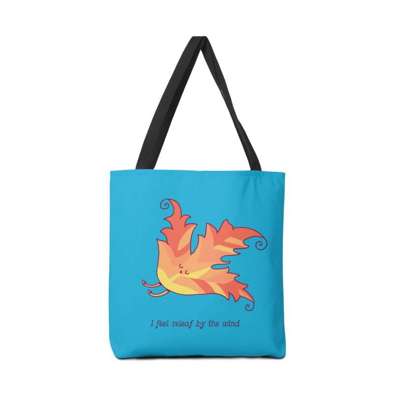 I FEEL RELEAF BY THE WIND Accessories Tote Bag Bag by RiLi's Artist Shop