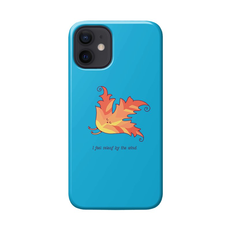 I FEEL RELEAF BY THE WIND Accessories Phone Case by RiLi's Artist Shop