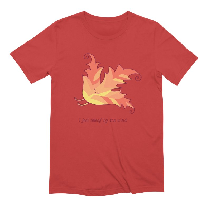 I FEEL RELEAF BY THE WIND Men's Extra Soft T-Shirt by RiLi's Artist Shop