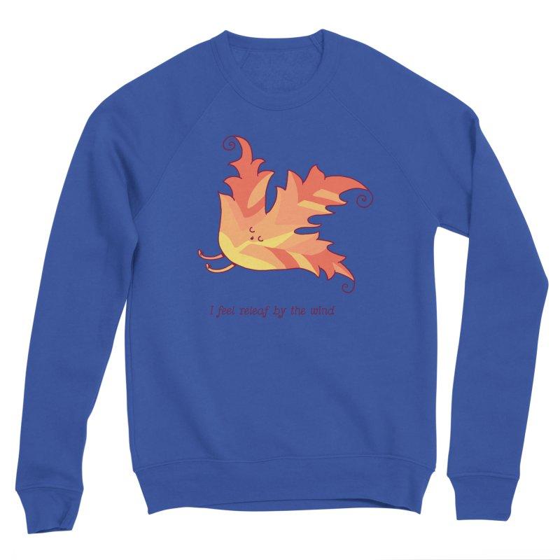 I FEEL RELEAF BY THE WIND Women's Sponge Fleece Sweatshirt by RiLi's Artist Shop