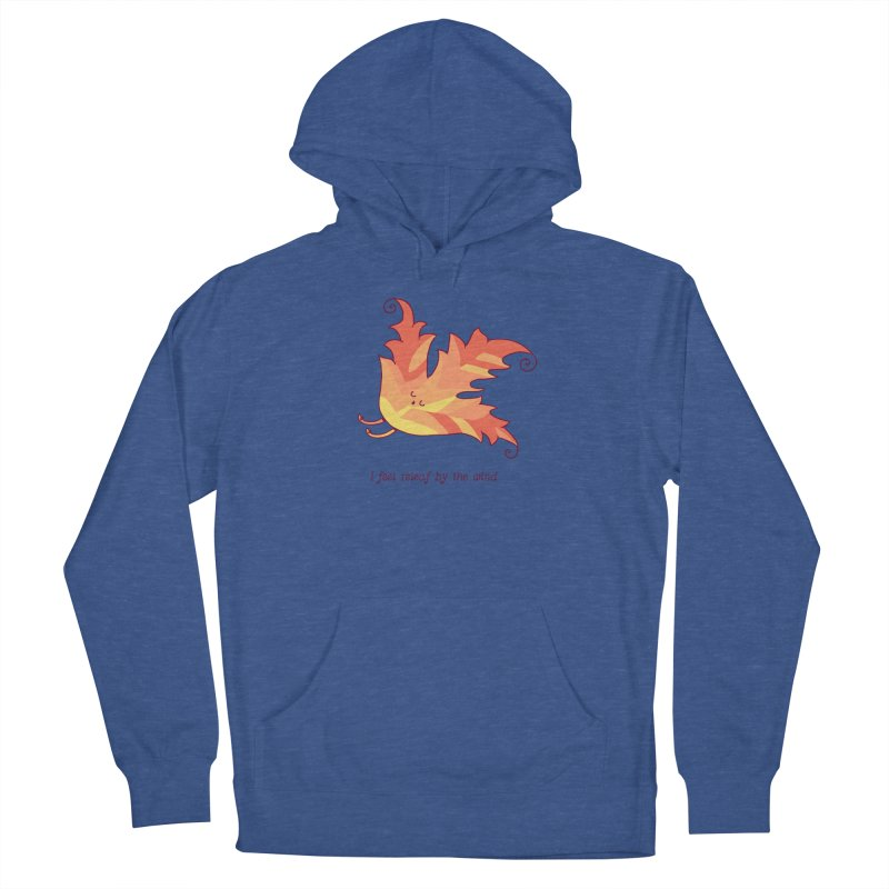 I FEEL RELEAF BY THE WIND Men's Pullover Hoody by RiLi's Artist Shop