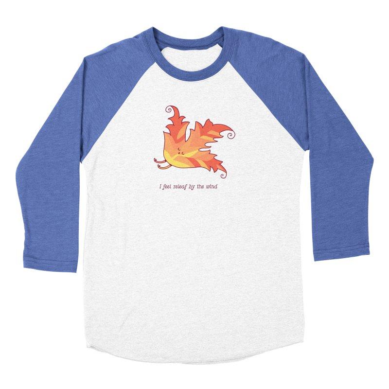 I FEEL RELEAF BY THE WIND Women's Longsleeve T-Shirt by RiLi's Artist Shop