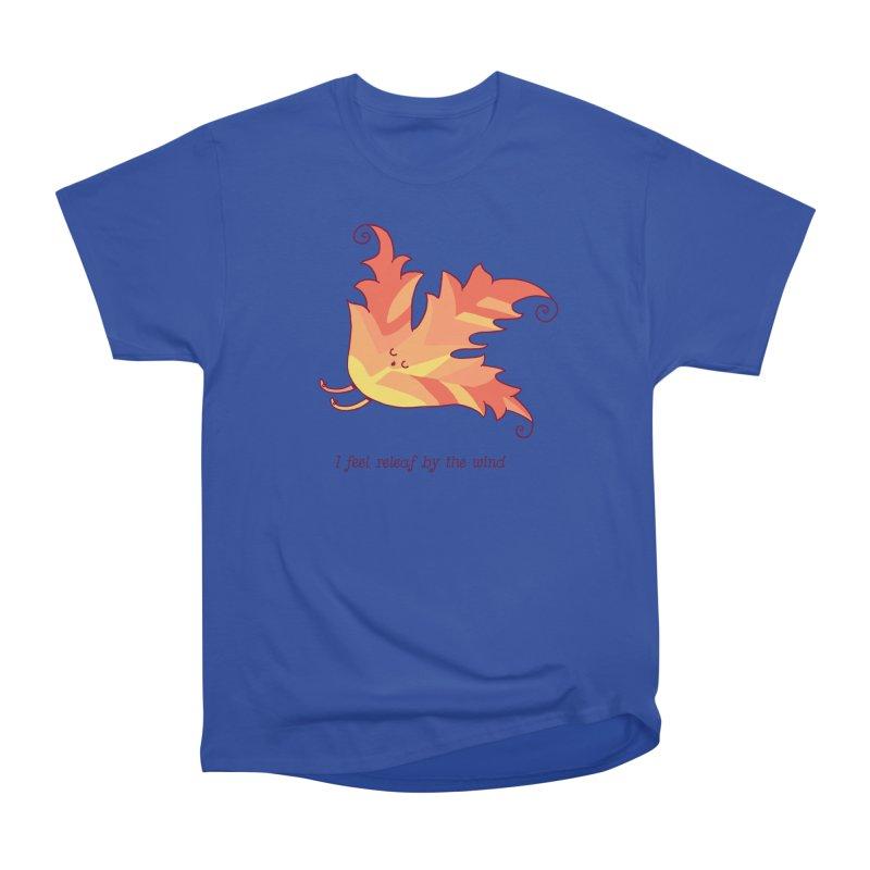 I FEEL RELEAF BY THE WIND Men's Heavyweight T-Shirt by RiLi's Artist Shop