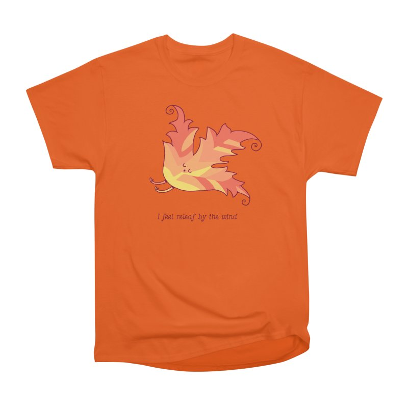 I FEEL RELEAF BY THE WIND Women's T-Shirt by RiLi's Artist Shop