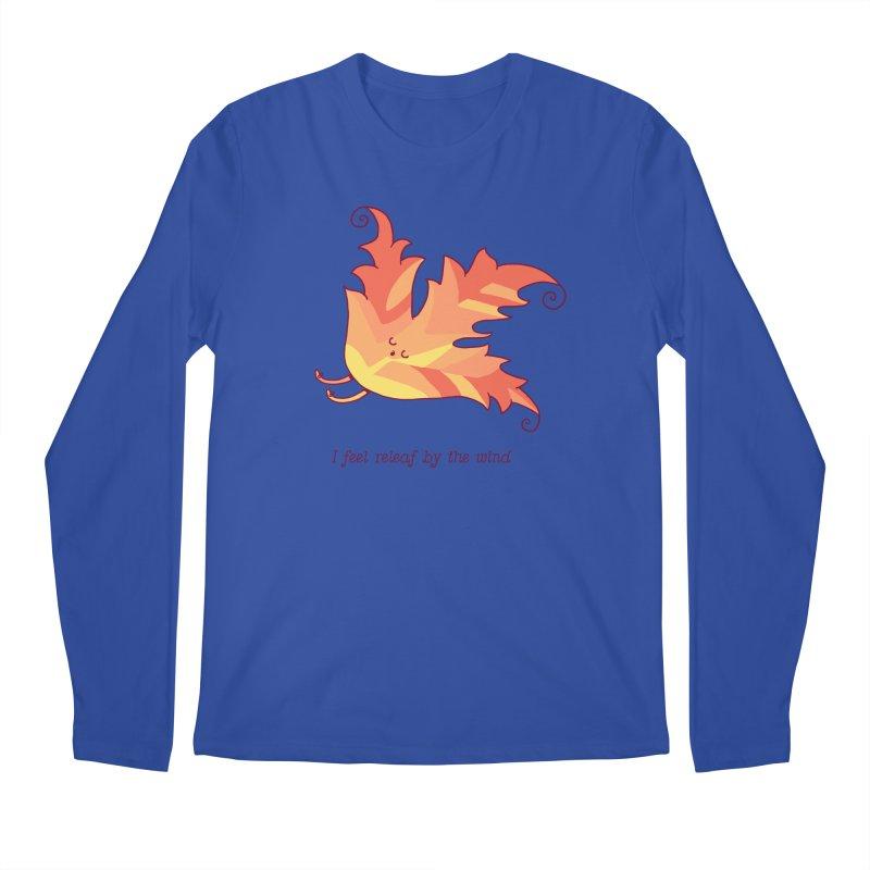 I FEEL RELEAF BY THE WIND Men's Regular Longsleeve T-Shirt by RiLi's Artist Shop