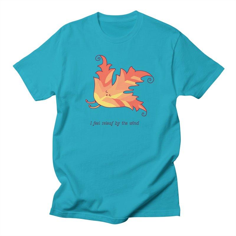 I FEEL RELEAF BY THE WIND Women's Regular Unisex T-Shirt by RiLi's Artist Shop