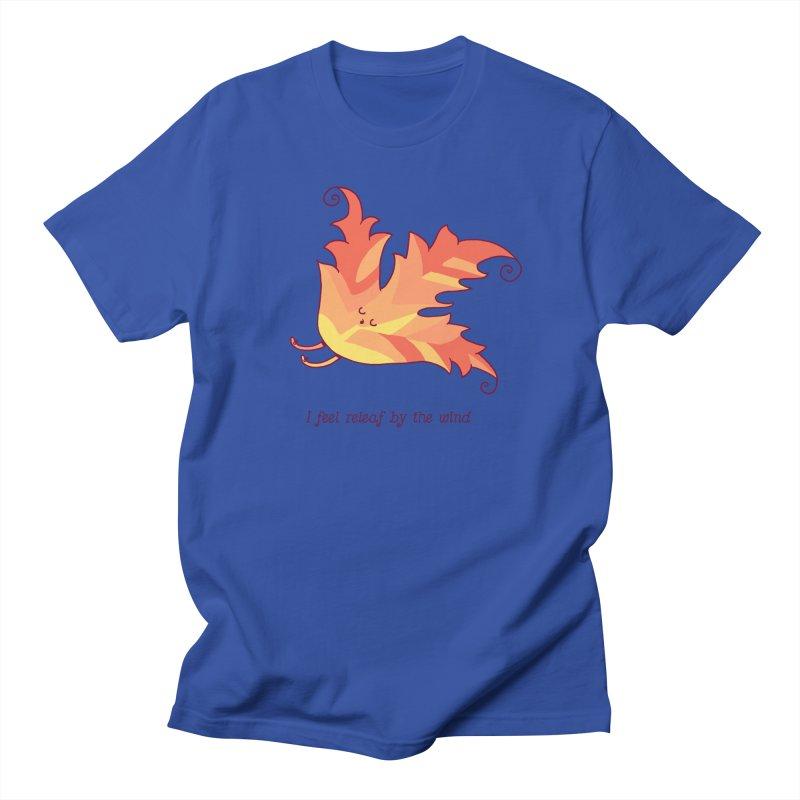 I FEEL RELEAF BY THE WIND Men's T-Shirt by RiLi's Artist Shop