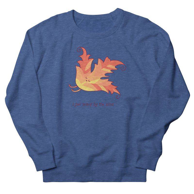 I FEEL RELEAF BY THE WIND Women's Sweatshirt by RiLi's Artist Shop