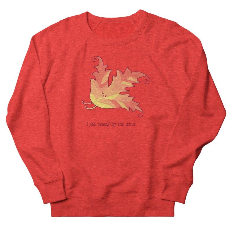 I FEEL RELEAF BY THE WIND Women's Sweatshirt by RiLi's Artist Shop