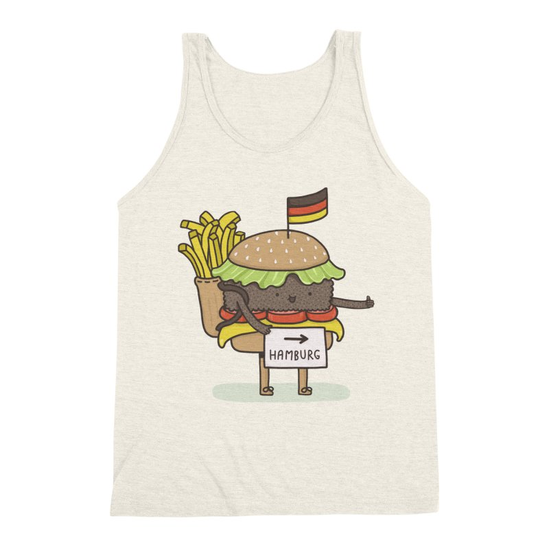 HITCHHIKING FOR HOME Men's Triblend Tank by RiLi's Artist Shop