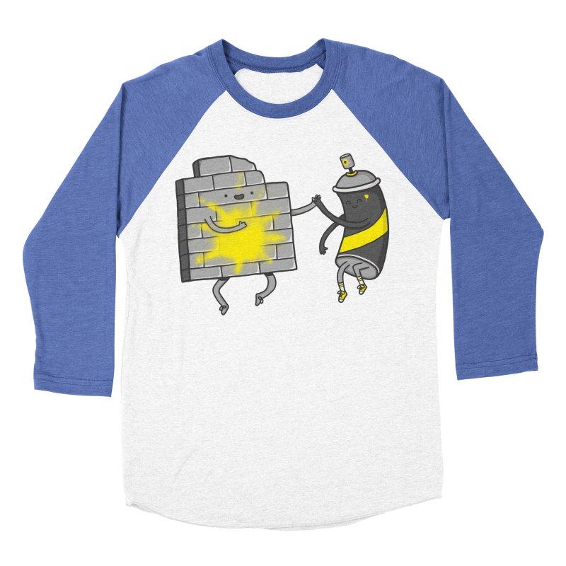 CHOOSE TO BE SUNNY Women's Baseball Triblend Longsleeve T-Shirt by RiLi's Artist Shop