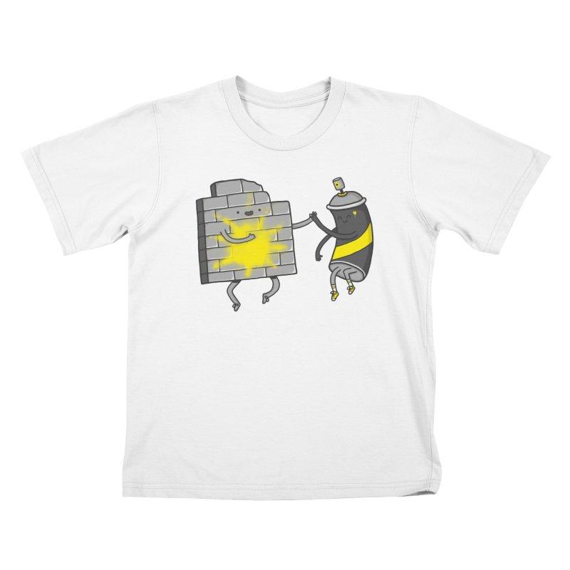 CHOOSE TO BE SUNNY Kids Toddler T-Shirt by RiLi's Artist Shop