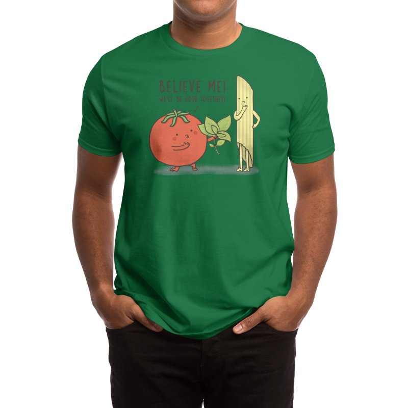 PASTA LOVER Men's T-Shirt by RiLi's Artist Shop