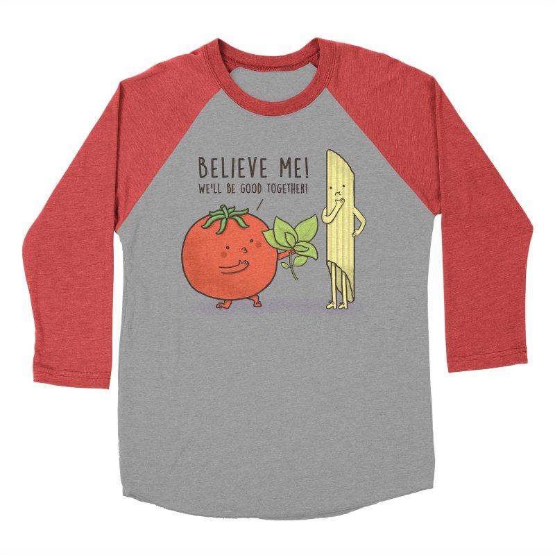 PASTA LOVER Women's Baseball Triblend Longsleeve T-Shirt by RiLi's Artist Shop