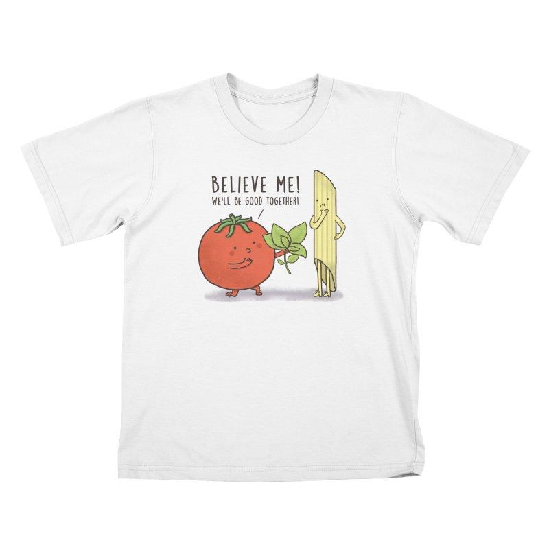 PASTA LOVER Kids Toddler T-Shirt by RiLi's Artist Shop