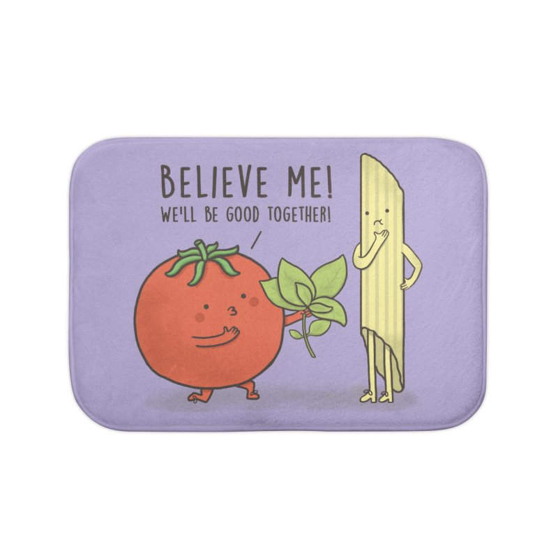 PASTA LOVER Home Bath Mat by RiLi's Artist Shop