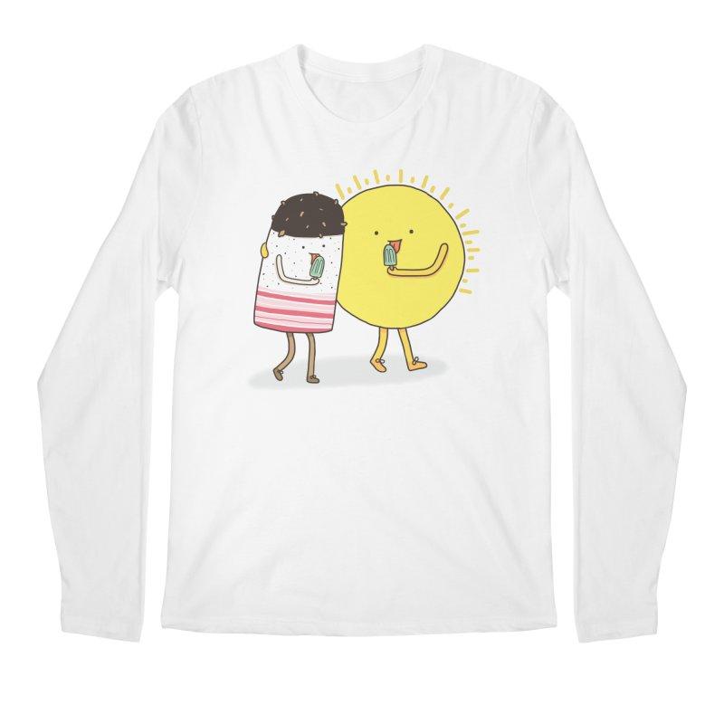 CHILLING WITH THE SUN Men's Longsleeve T-Shirt by RiLi's Artist Shop