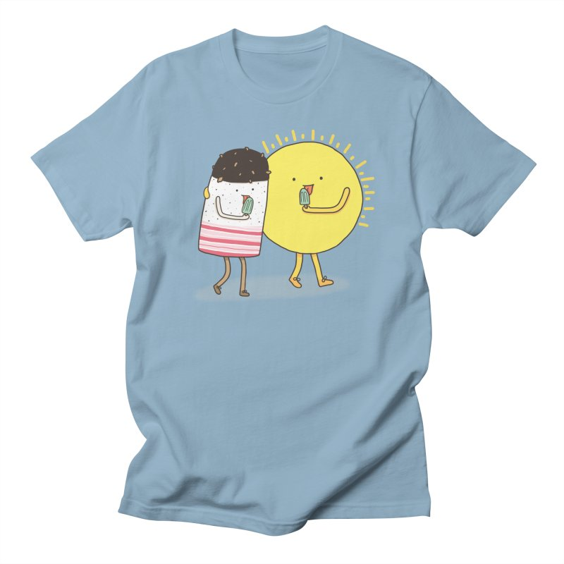 CHILLING WITH THE SUN Men's T-shirt by RiLi's Artist Shop