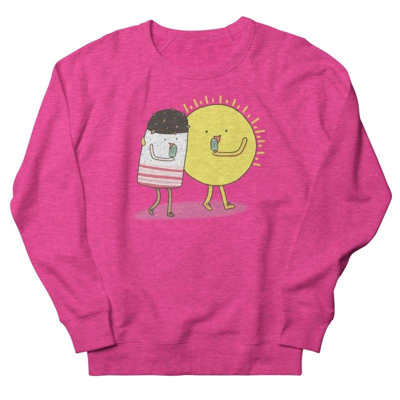 CHILLING WITH THE SUN Women's Sweatshirt by RiLi's Artist Shop