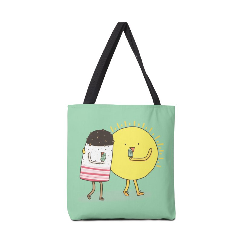 CHILLING WITH THE SUN Accessories Bag by RiLi's Artist Shop