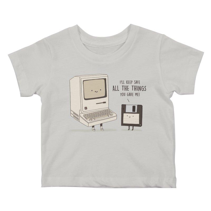 A PRECIOUS DATABASE Kids Baby T-Shirt by RiLi's Artist Shop