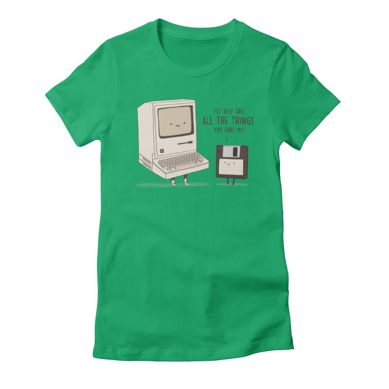 A PRECIOUS DATABASE Women's Fitted T-Shirt by RiLi's Artist Shop