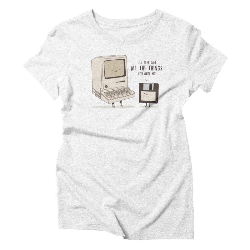 A PRECIOUS DATABASE Women's Triblend T-shirt by RiLi's Artist Shop