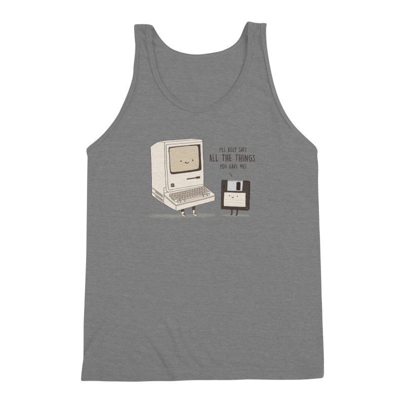 A PRECIOUS DATABASE Men's Triblend Tank by RiLi's Artist Shop