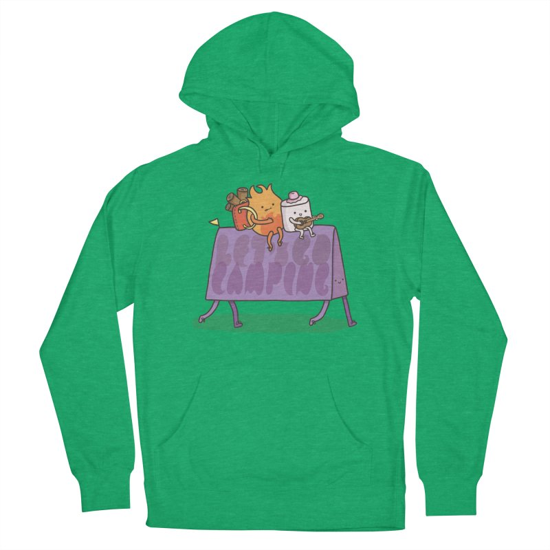 LET'S GO CAMPING  Women's Pullover Hoody by RiLi's Artist Shop