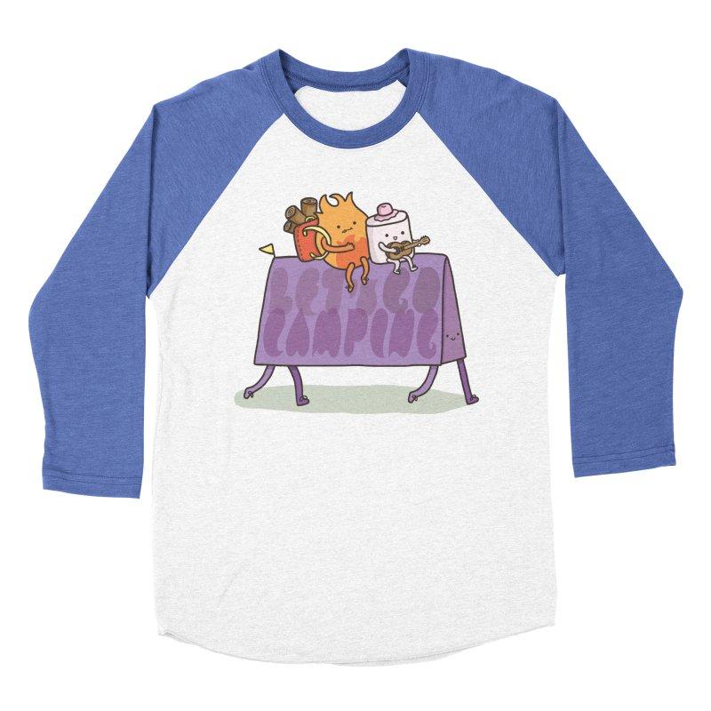 LET'S GO CAMPING Women's Baseball Triblend Longsleeve T-Shirt by RiLi's Artist Shop