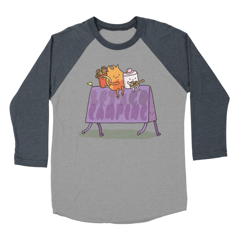 LET'S GO CAMPING  Women's Baseball Triblend T-Shirt by RiLi's Artist Shop