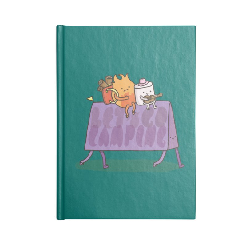 LET'S GO CAMPING  Accessories Notebook by RiLi's Artist Shop