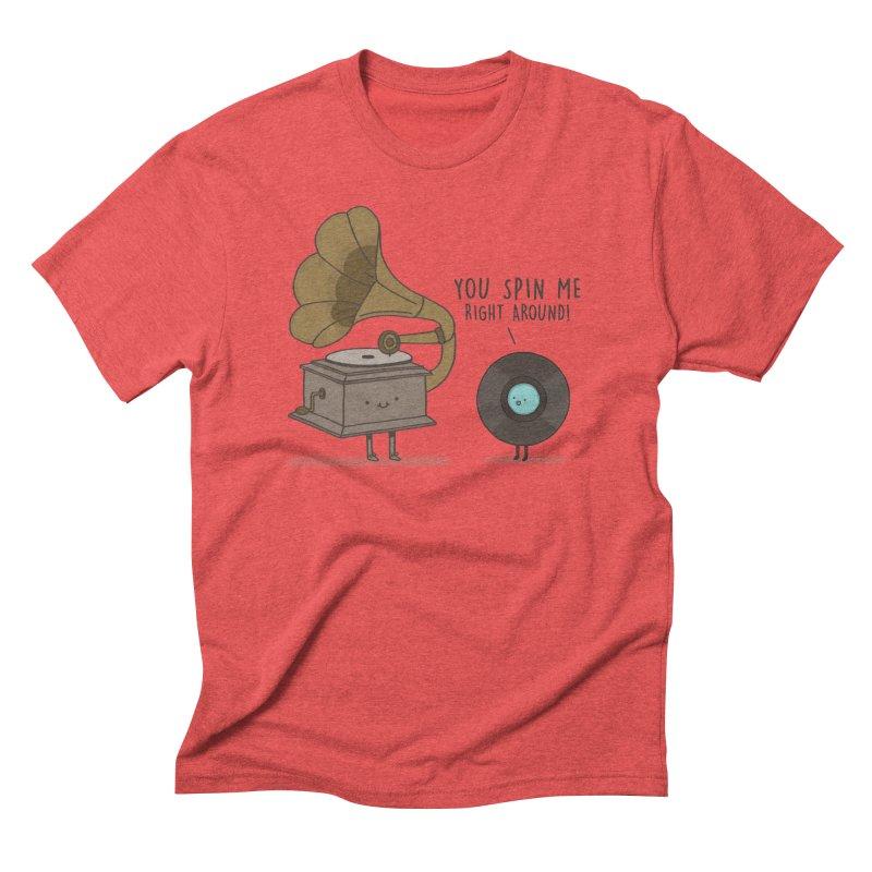 HEAD SPINNING LOVE  Men's Triblend T-shirt by RiLi's Artist Shop