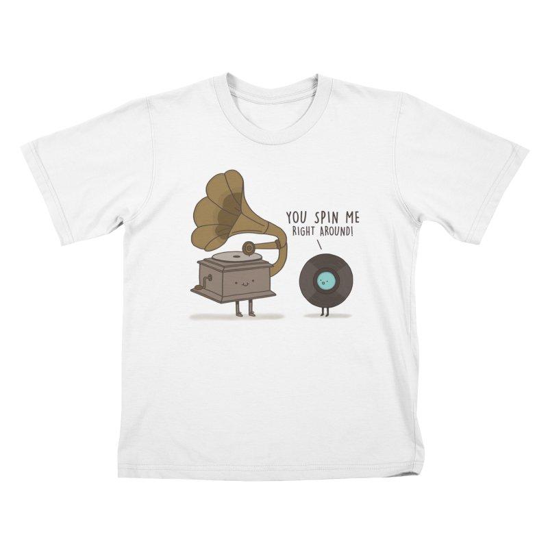 HEAD SPINNING LOVE  Kids Toddler T-Shirt by RiLi's Artist Shop