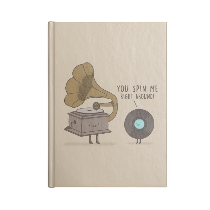HEAD SPINNING LOVE  Accessories Notebook by RiLi's Artist Shop