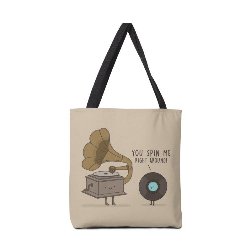 HEAD SPINNING LOVE  Accessories Bag by RiLi's Artist Shop