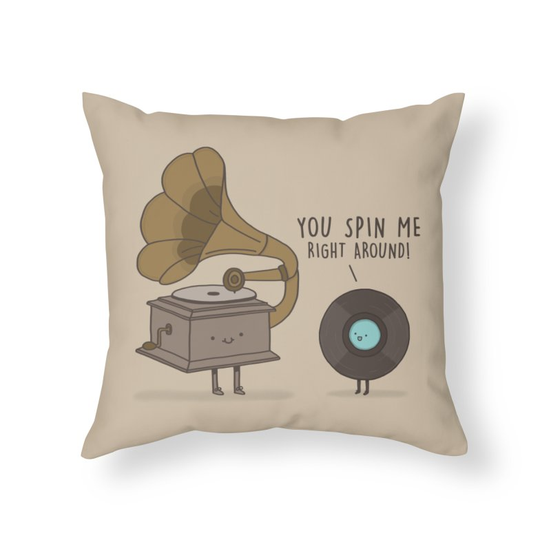 HEAD SPINNING LOVE  Home Throw Pillow by RiLi's Artist Shop