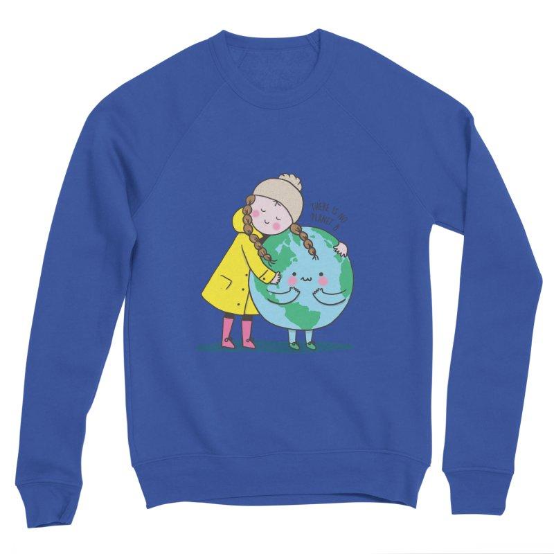 THERE IS NO PLANET B Women's Sponge Fleece Sweatshirt by RiLi's Artist Shop