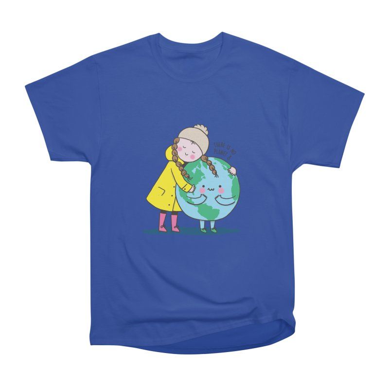 THERE IS NO PLANET B Men's Heavyweight T-Shirt by RiLi's Artist Shop