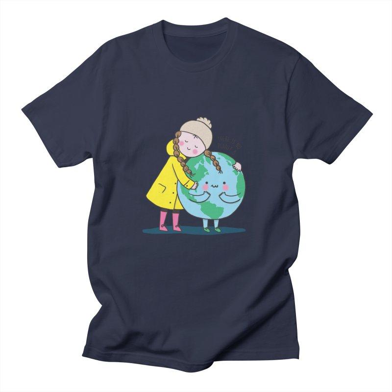 THERE IS NO PLANET B Men's Regular T-Shirt by RiLi's Artist Shop