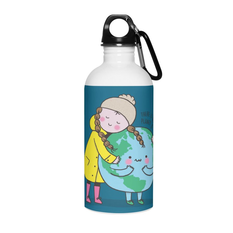 THERE IS NO PLANET B Accessories Water Bottle by RiLi's Artist Shop