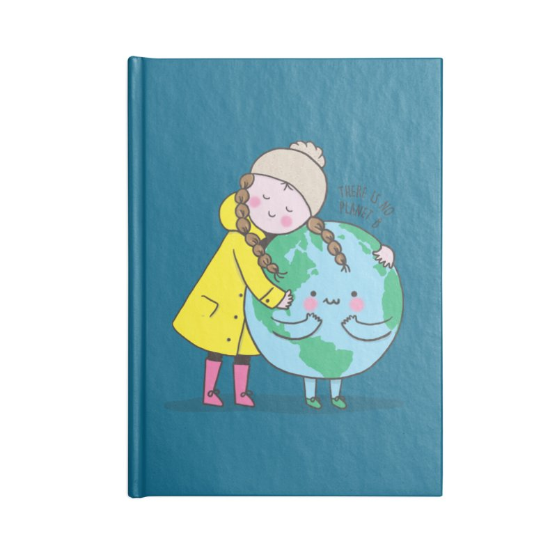 THERE IS NO PLANET B Accessories Lined Journal Notebook by RiLi's Artist Shop