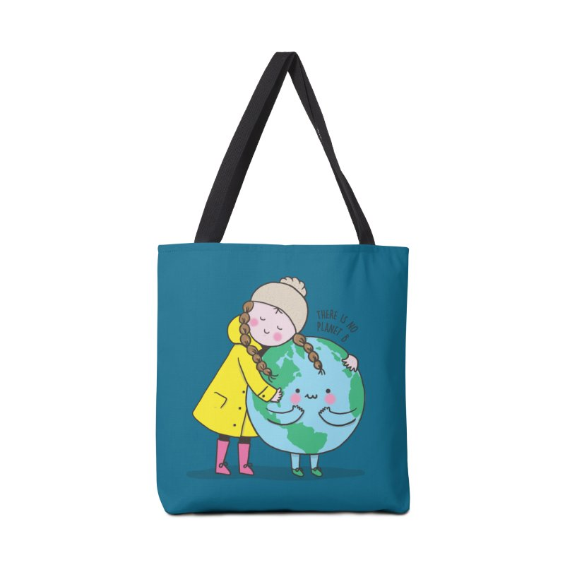 THERE IS NO PLANET B Accessories Tote Bag Bag by RiLi's Artist Shop