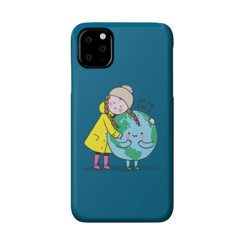 THERE IS NO PLANET B Accessories Phone Case by RiLi's Artist Shop