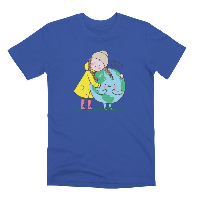 THERE IS NO PLANET B Men's Premium T-Shirt by RiLi's Artist Shop