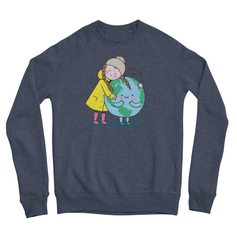 THERE IS NO PLANET B Men's Sponge Fleece Sweatshirt by RiLi's Artist Shop
