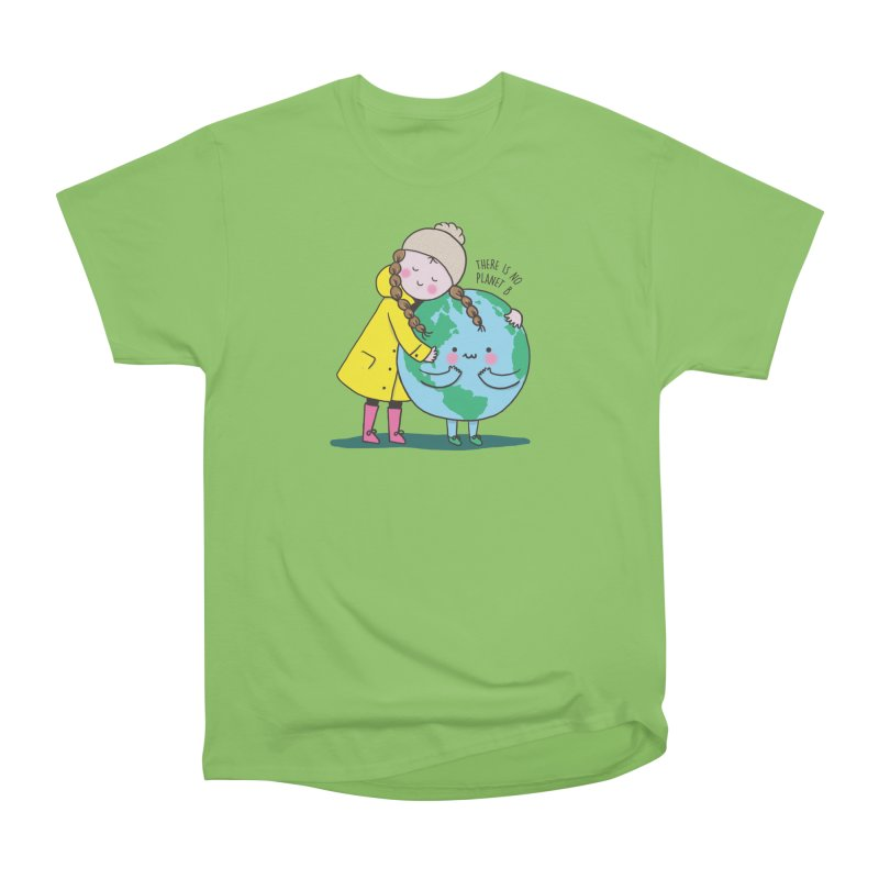 THERE IS NO PLANET B Women's Heavyweight Unisex T-Shirt by RiLi's Artist Shop