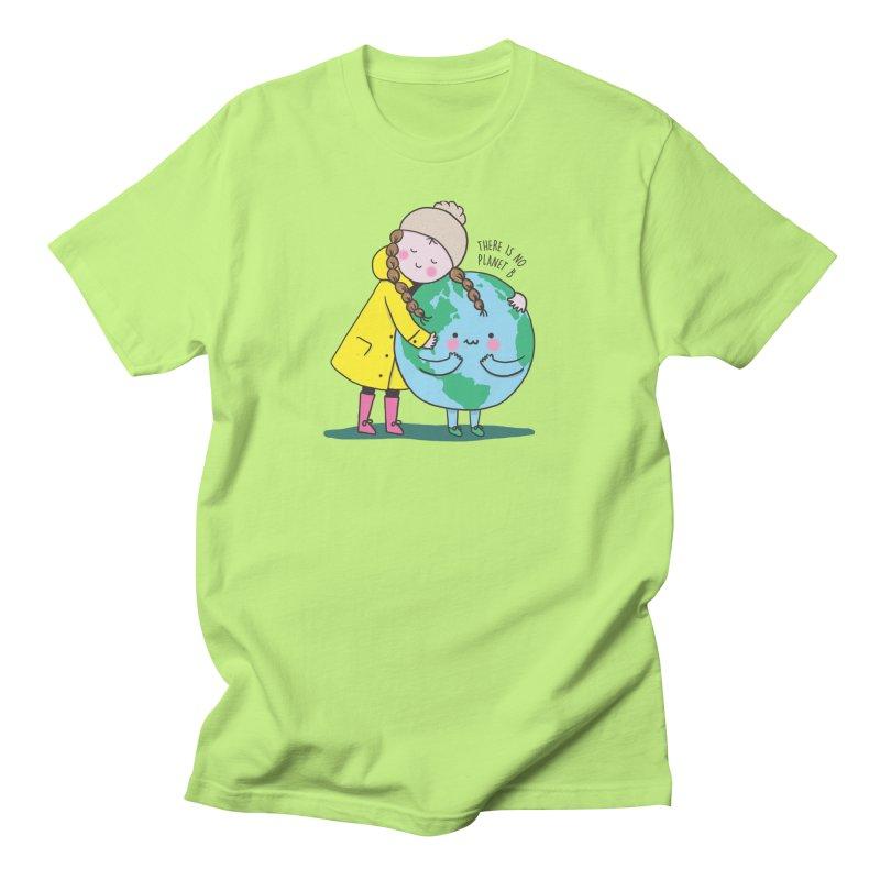 THERE IS NO PLANET B Men's T-Shirt by RiLi's Artist Shop